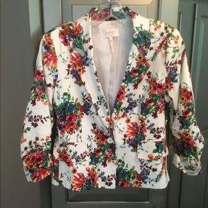 Laundry by Shelli Segal floral blazer/jacket